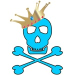 Blue Pirate Royalty T-shirts & Gifts