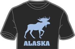 Retro Alaska Moose