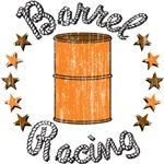Retro Barrel Racing