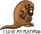 I Love my Platypus