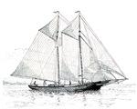 American Fishing Schooner