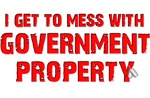GOVERNMENT PROPERTY - RED