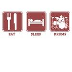 eat sleep drums