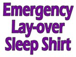 layover sleep-shirt