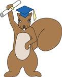 Squirrel Graduate