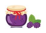 Blackberry Jam Jar