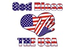 PDC2008 God Bless The USA, Hand Over Heart Design