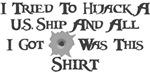 Pirate Hijacker Shirt