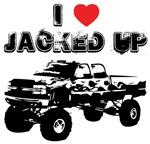 I love jacked up trucks!