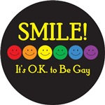 Smile, It's OK to Be Gay