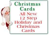 12 Step Recovery<br> Christmas Cards