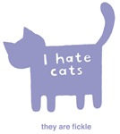 I hate cats t-shirts