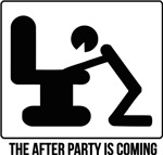 After party is coming
