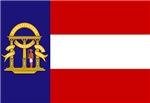 Flag of Georgia (1902–1906)
