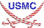 USMC with swords