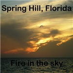 Spring Hill Fire in the Sky