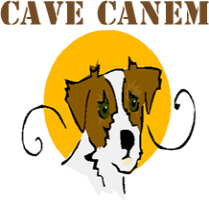 Cave Canem (Beware of Dog in Latin)
