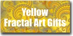 Yellow Fractal Art Gifts