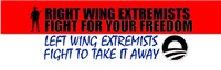 Right Wing Extremists Fight For Your Freedom