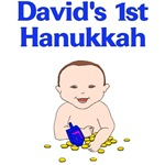 Personalized Hanukkah Dreidel Baby