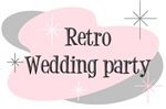 Retro Wedding party tees