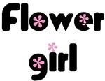Groovy pink Flower Girl t-shirts & gifts