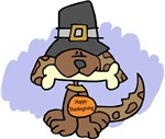 Thanksgiving Puppy t-shirts & gifts