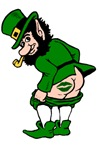 Mooning Leprechaun t-shirts & gifts