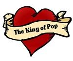 King of Pop Heart Tattoo