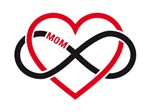Mother's day infinity heart