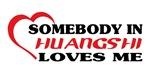 Somebody in Huangshi loves me