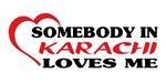 Somebody in Karachi loves me