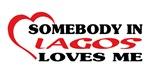 Somebody in Lagos loves me