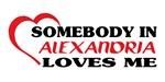 Somebody in Alexandria loves me