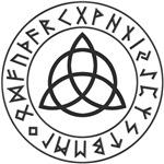 Triquetra Rune Shield