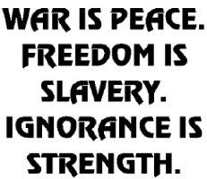 War Is Peace (Orwell) Clothing