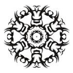 Tribal circle tattoo t-shirts & gifts