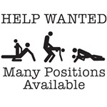HELP WANTED. MANY POSITIONS AVAILABLE