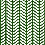 Evergreen Chevron Weave