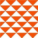 Edgy Orange Triangles