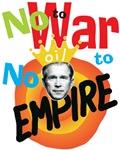 Anti-Bush Anti-War Colorful t-shirts