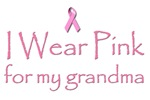 Breast Cancer Awareness: I wear pink for my grandm