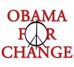 Obama for change T-shirts.