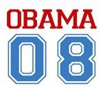 Obama 08 T-shirts. 'Obama 08' design. A must have