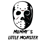 Halloween T-shirts. Mummy's little monster. Hallow