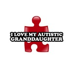 I love my Autistic Granddaughter T-shirts.