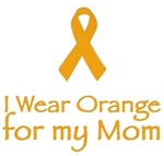 I WEAR ORANGE FOR MY MOM