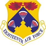 18th Air Force Crest
