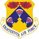 18th Air Force Crest