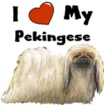 I Love My Pekingese
